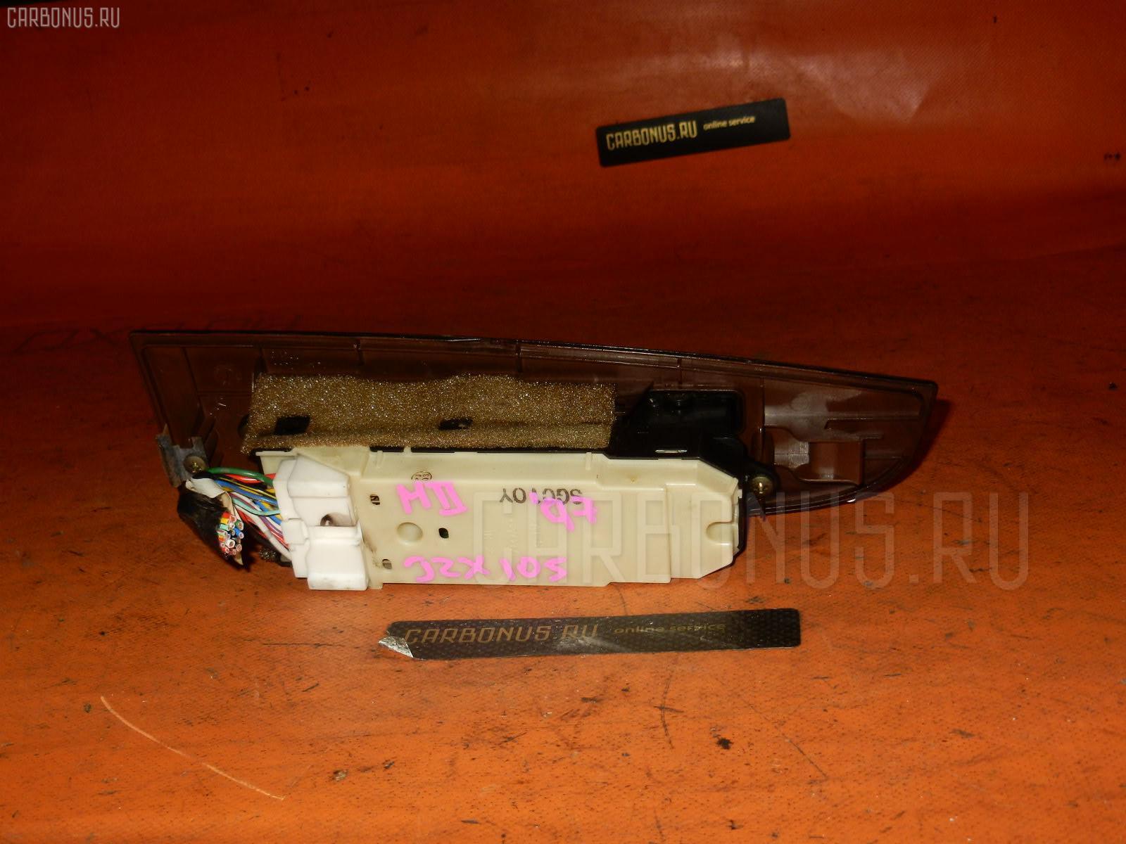 Блок упр-я стеклоподъемниками TOYOTA MARK II JZX105. Фото 4