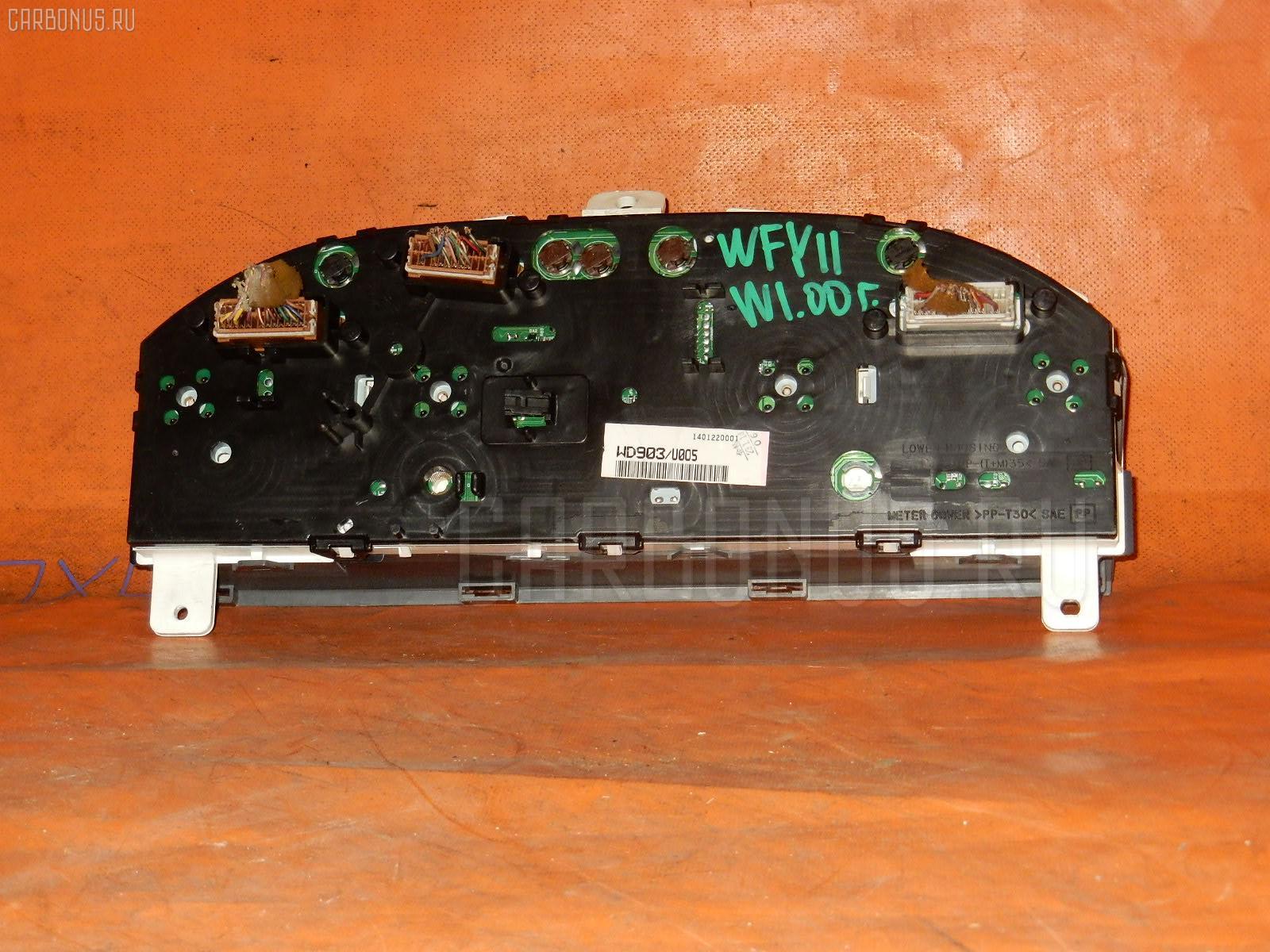 Спидометр NISSAN WINGROAD WFY11 QG15DE. Фото 5