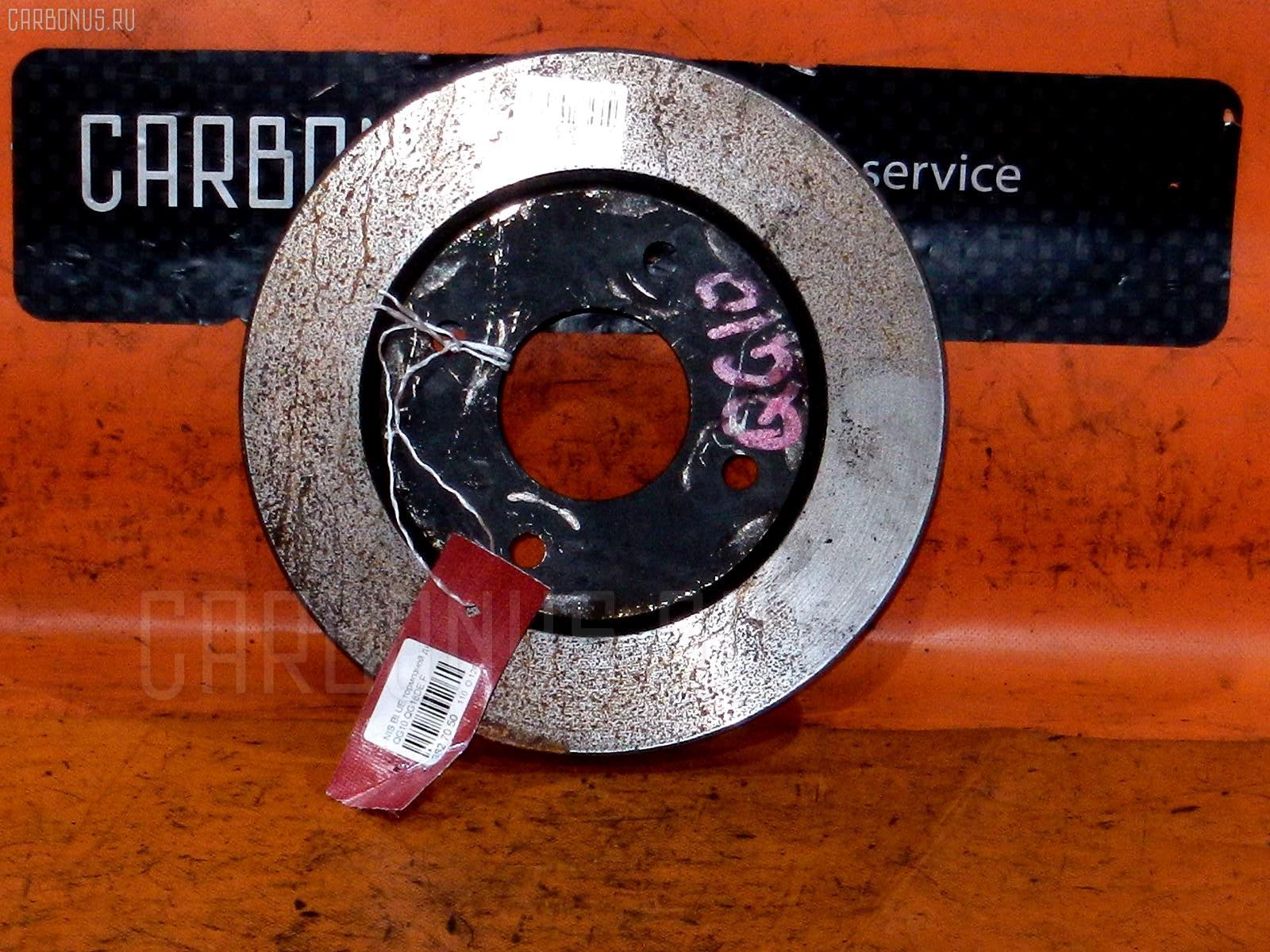 Тормозной диск NISSAN WINGROAD WFY11 QG15DE. Фото 6