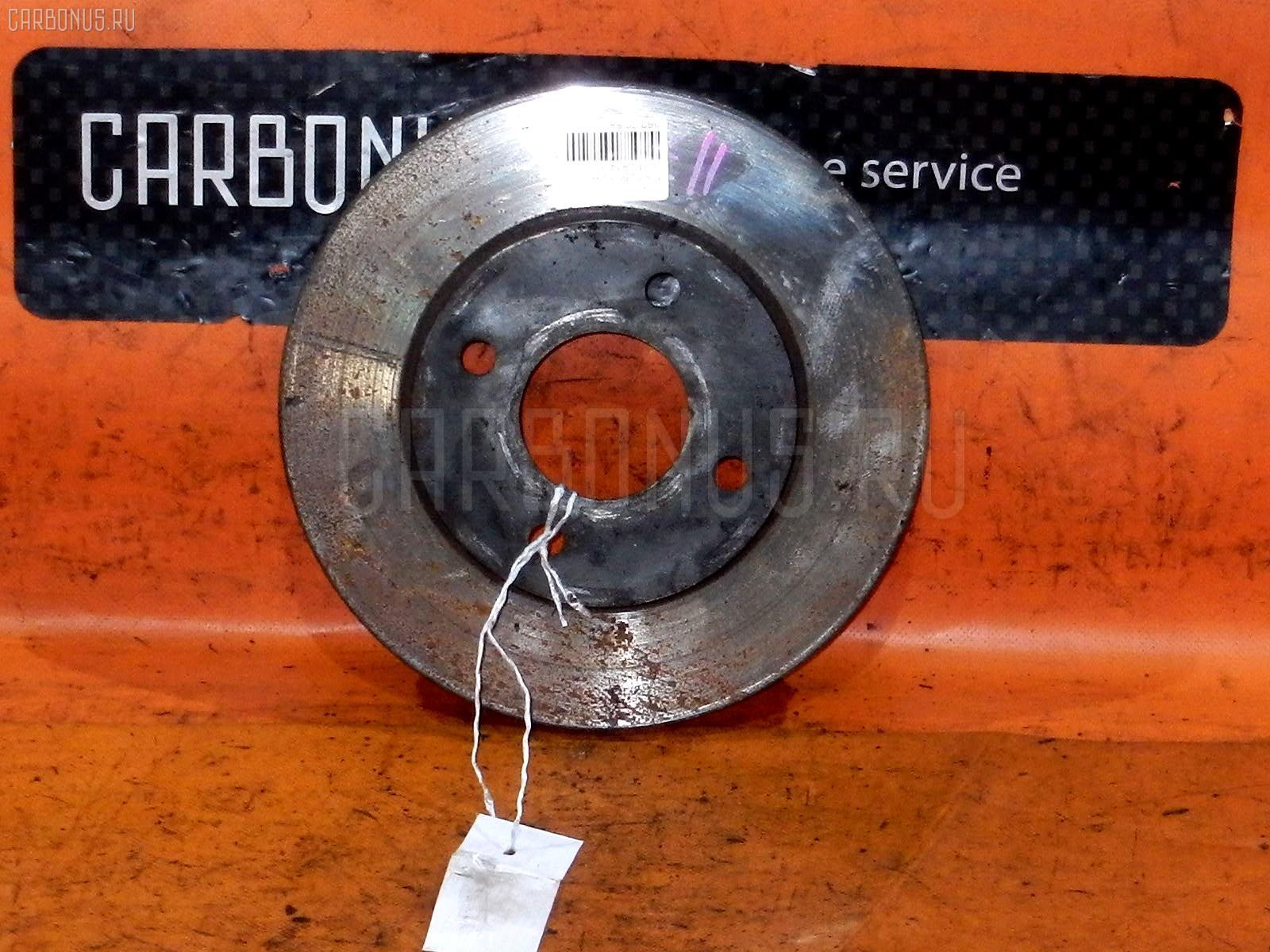 Тормозной диск NISSAN TIIDA LATIO SC11 HR15DE. Фото 6