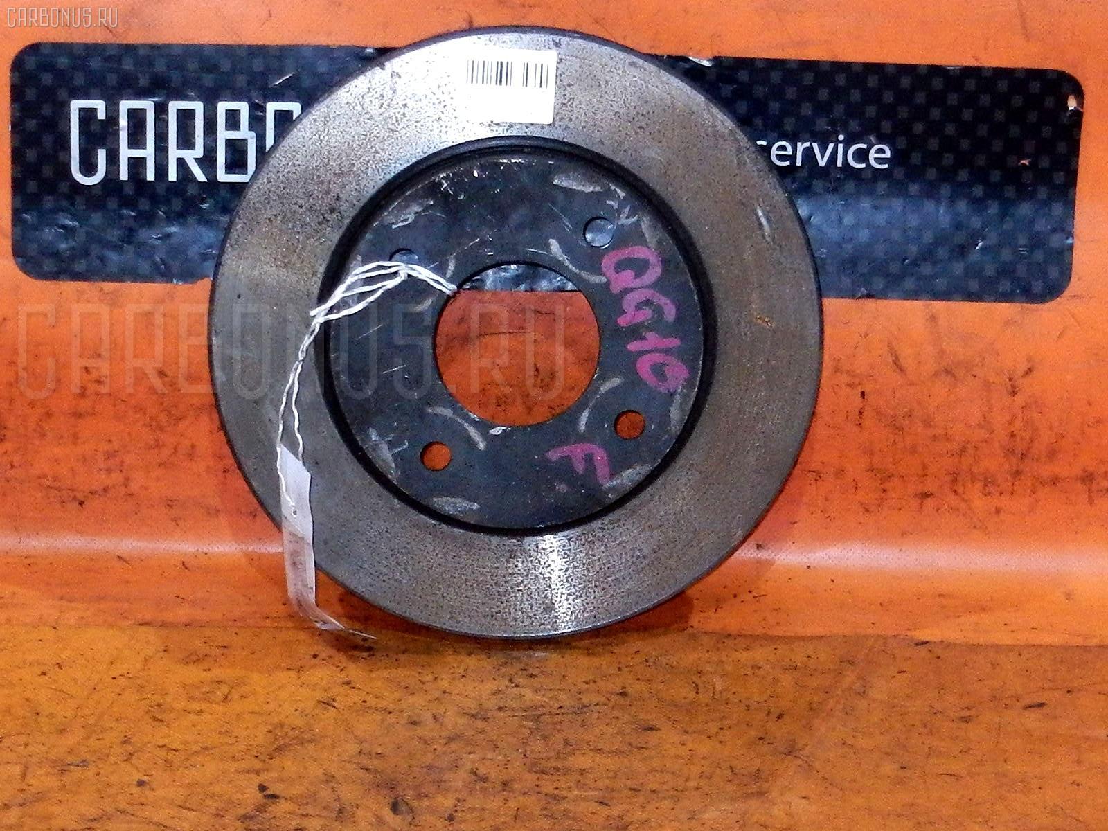 Тормозной диск NISSAN WINGROAD WFY11 QG15DE. Фото 11