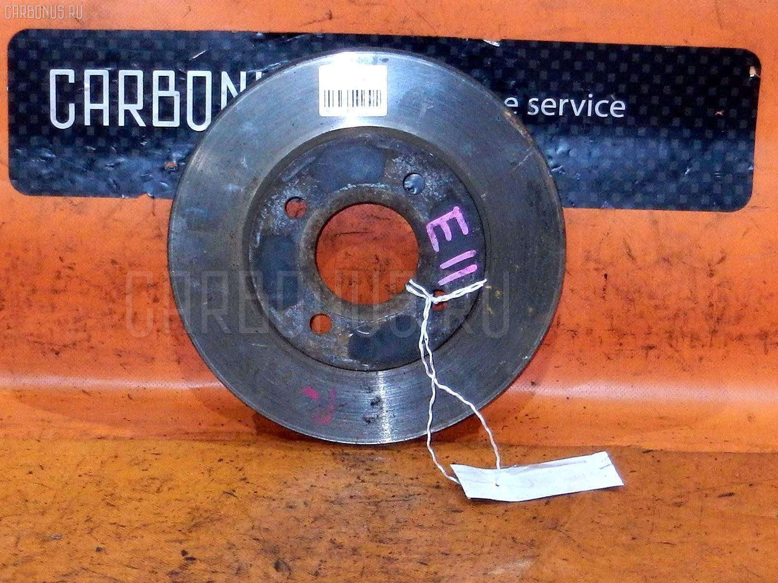 Тормозной диск NISSAN TIIDA LATIO SC11 HR15DE. Фото 10