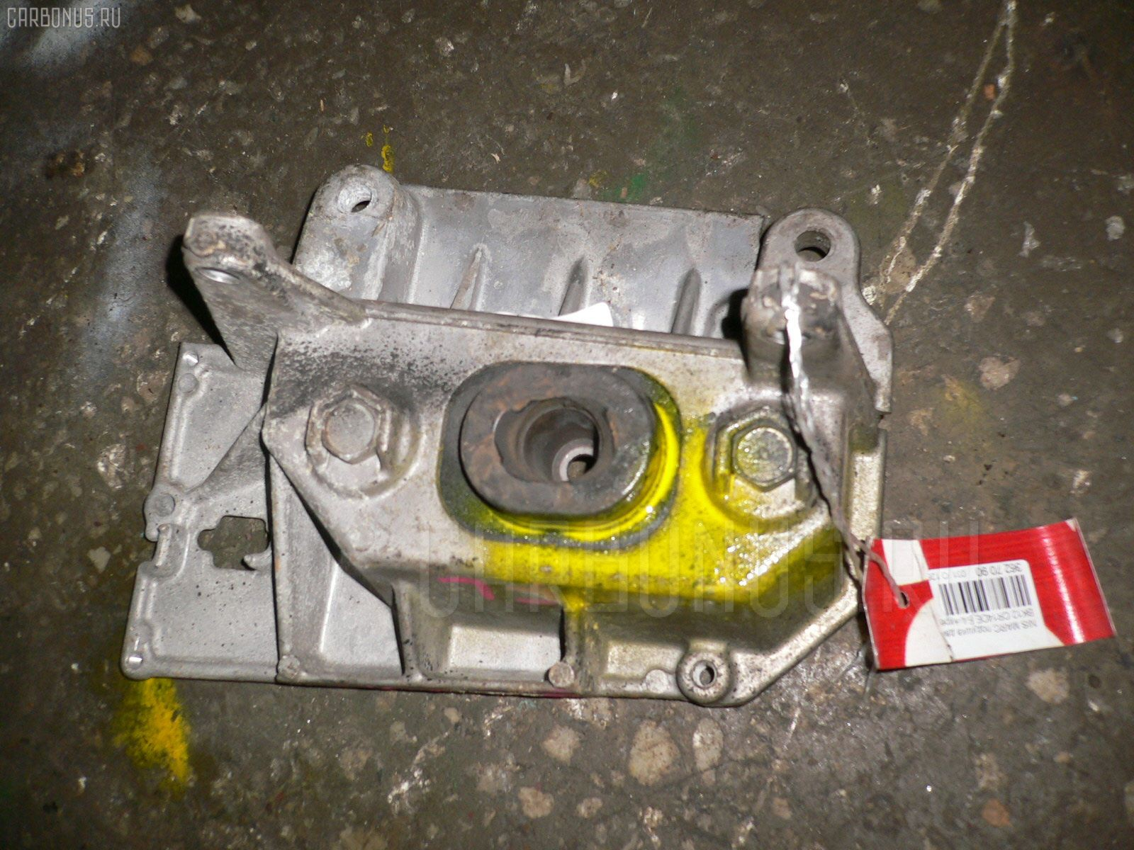 Подушка двигателя Nissan March BK12 CR14DE Фото 1