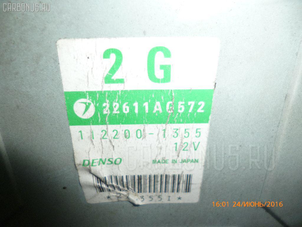 Двигатель SUBARU FORESTER SG5 EJ20T Фото 4