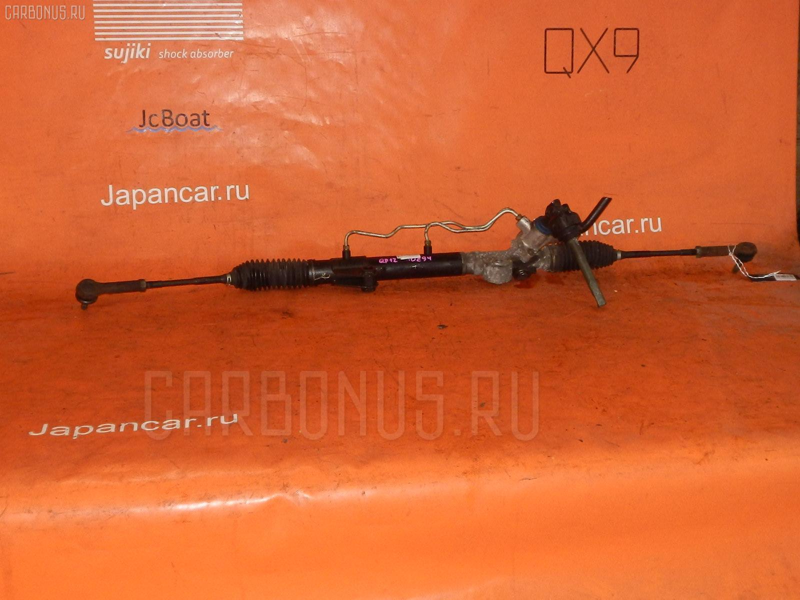 Рулевая рейка NISSAN PRIMERA QP12 QG18DE. Фото 4