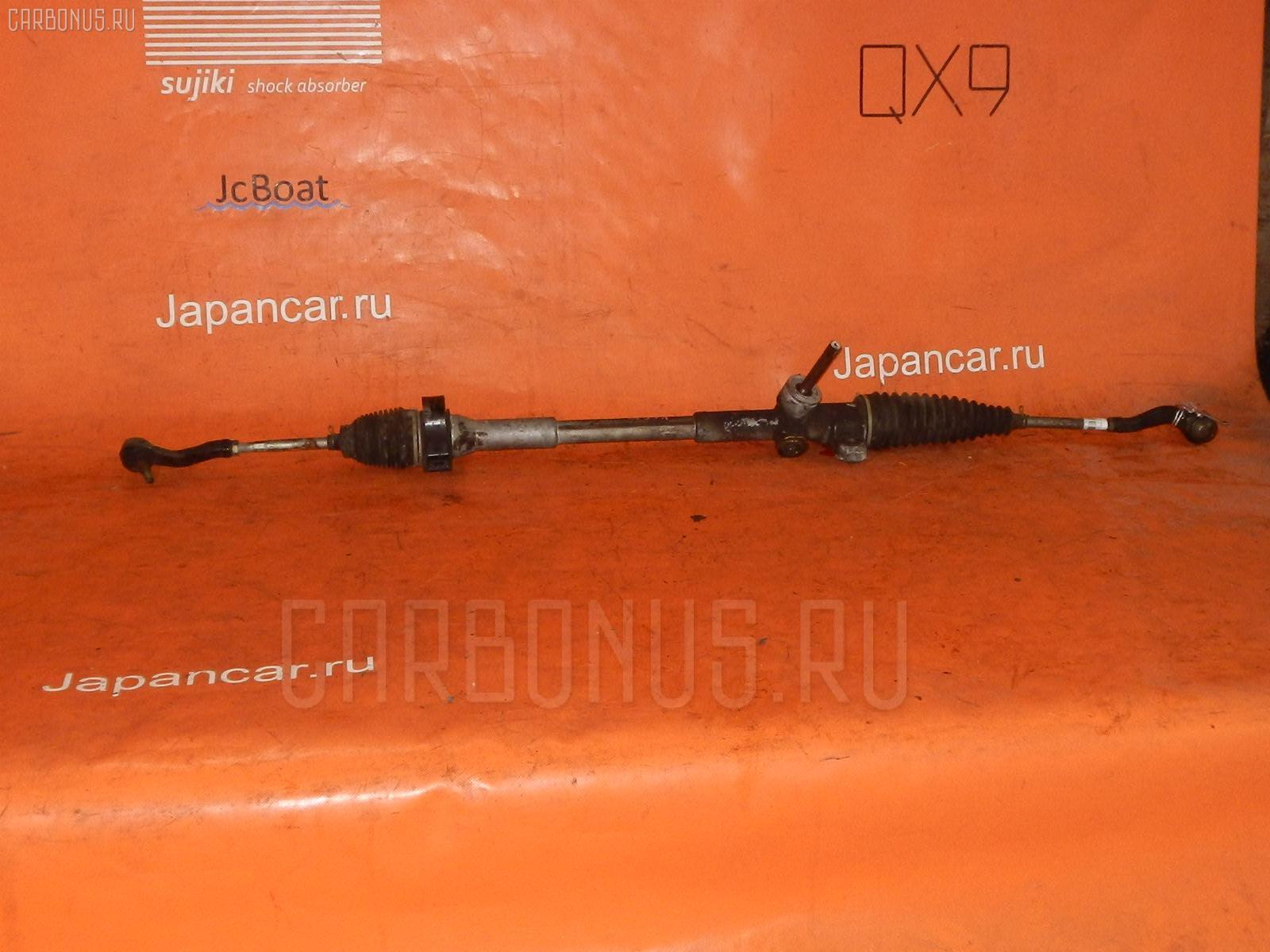 Рулевая рейка TOYOTA PASSO KGC10 1KR-FE. Фото 8