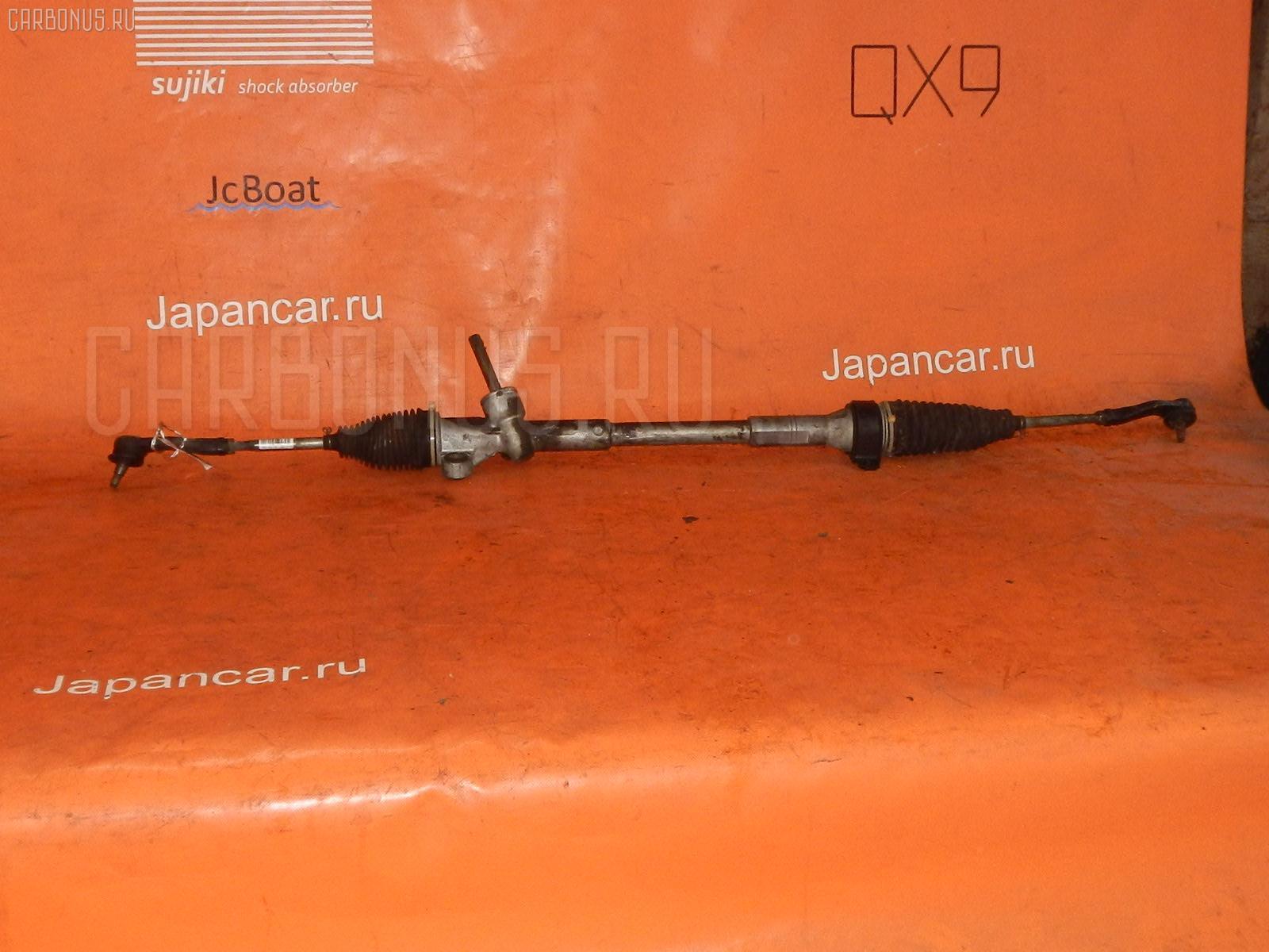 Рулевая рейка TOYOTA PASSO QNC10 K3-VE. Фото 2