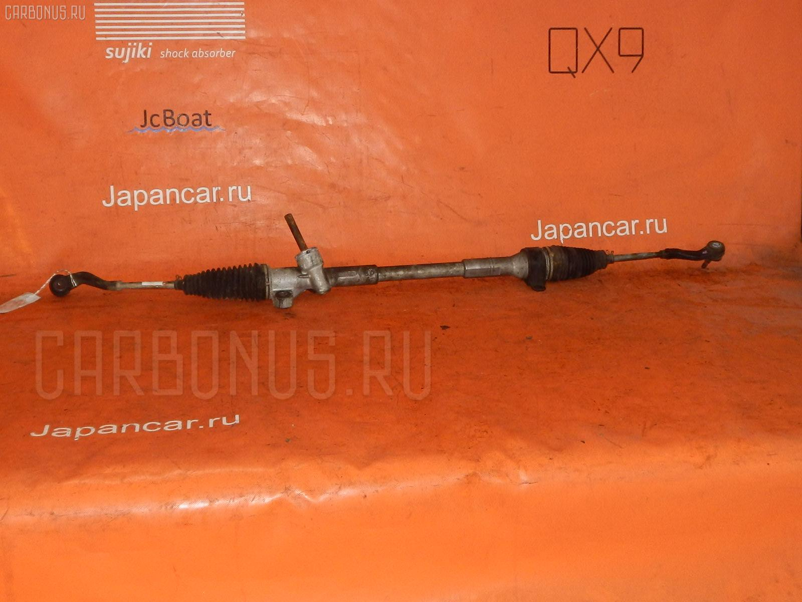 Рулевая рейка TOYOTA PASSO QNC10 K3-VE. Фото 3