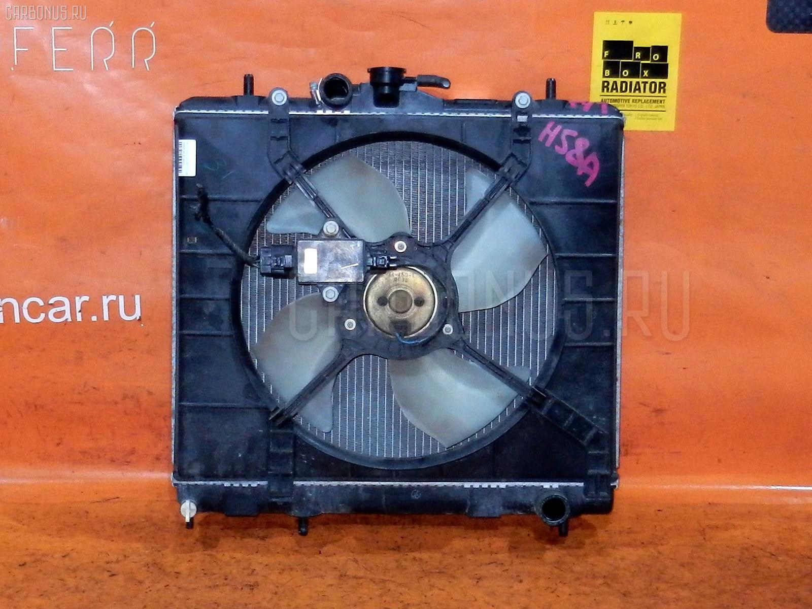 Радиатор ДВС MITSUBISHI PAJERO MINI H58A 4A30. Фото 8