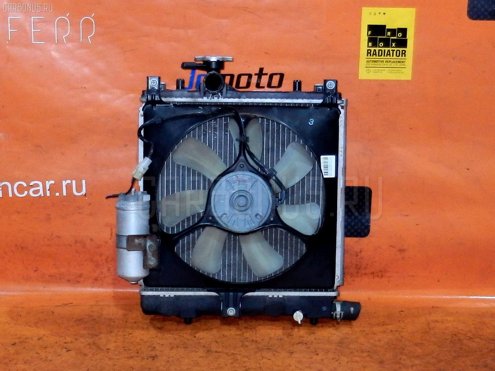Радиатор ДВС SUZUKI KEI HN22S K6A. Фото 1