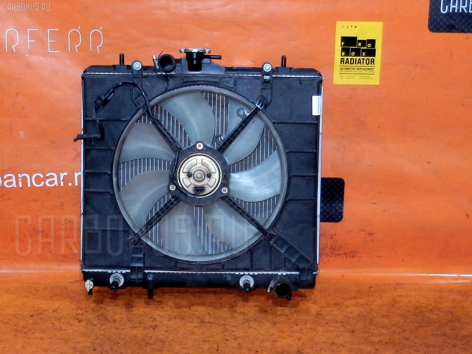 Радиатор ДВС MITSUBISHI PAJERO MINI H58A 4A30. Фото 9