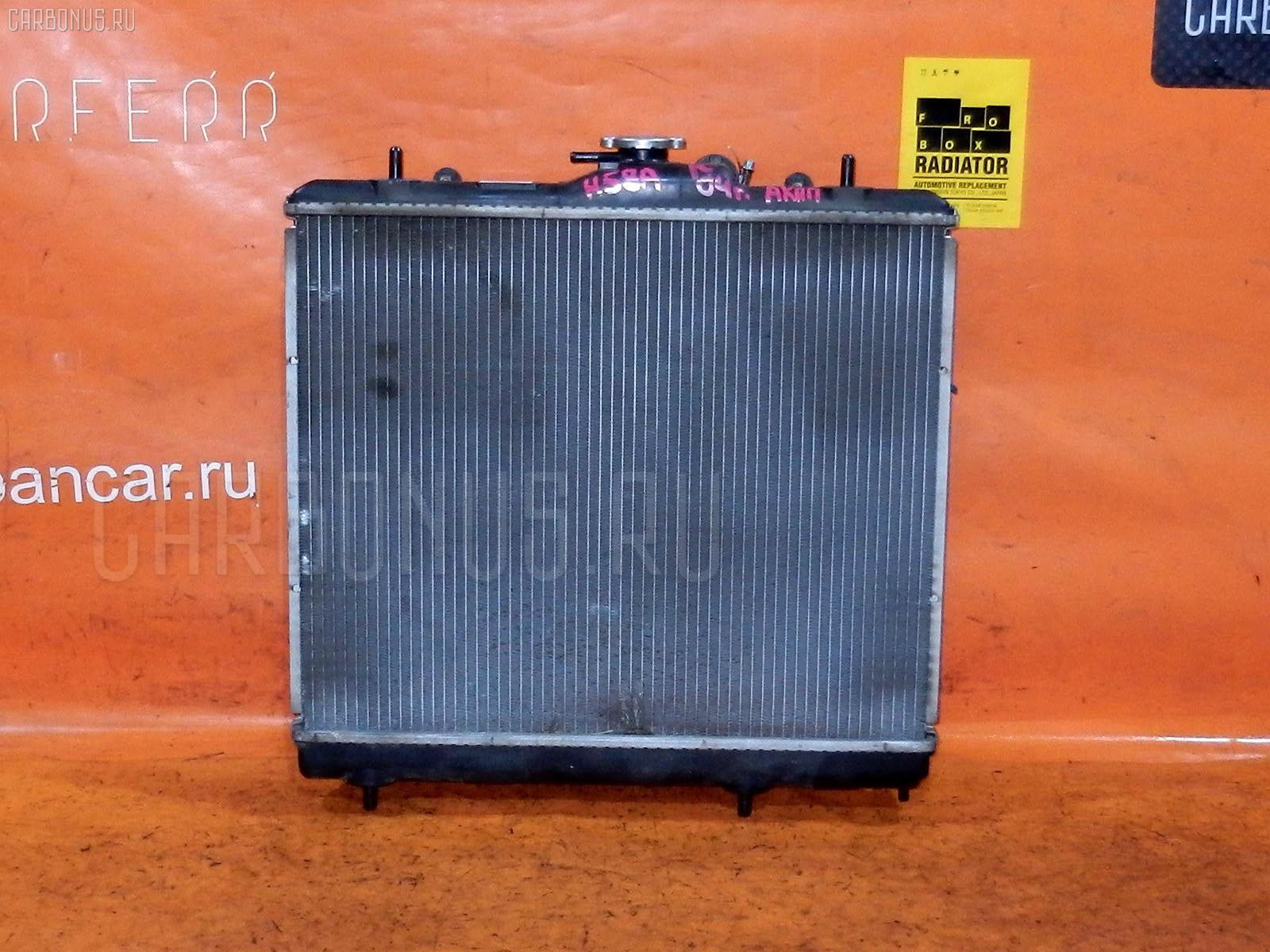 Радиатор ДВС MITSUBISHI PAJERO MINI H58A 4A30. Фото 10