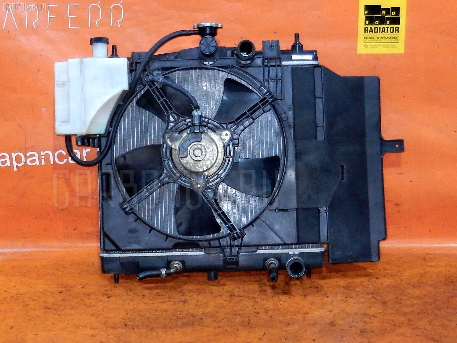 Радиатор ДВС NISSAN CUBE BZ11 CR14DE. Фото 11