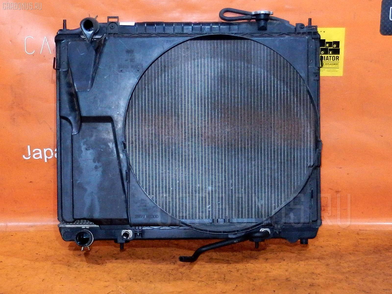 Радиатор ДВС NISSAN ELGRAND NE51 VQ35DE Фото 2