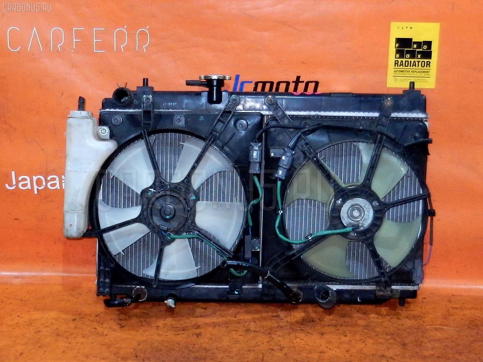 Радиатор ДВС HONDA FIT ARIA GD6 L13A. Фото 4