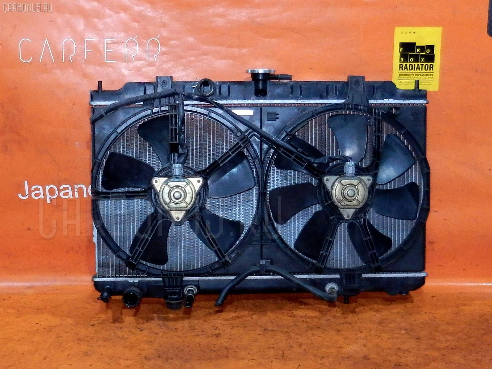 Радиатор ДВС NISSAN SUNNY FNB15 QG15DE. Фото 9