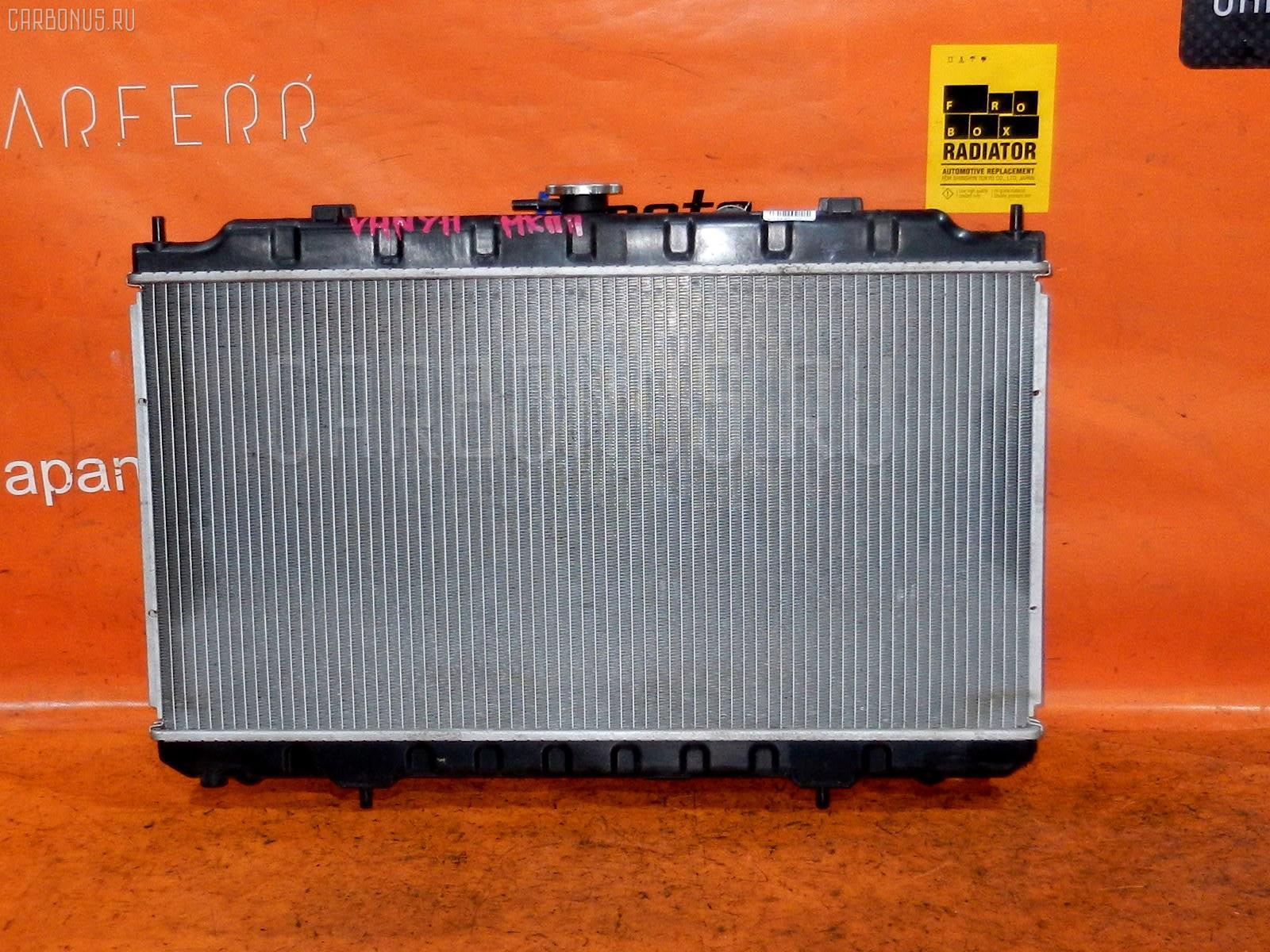 Радиатор ДВС NISSAN AD VHNY11 QG18DE. Фото 4