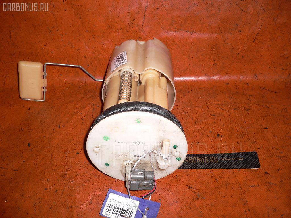 Бензонасос NISSAN NOTE E11 HR15DE. Фото 6