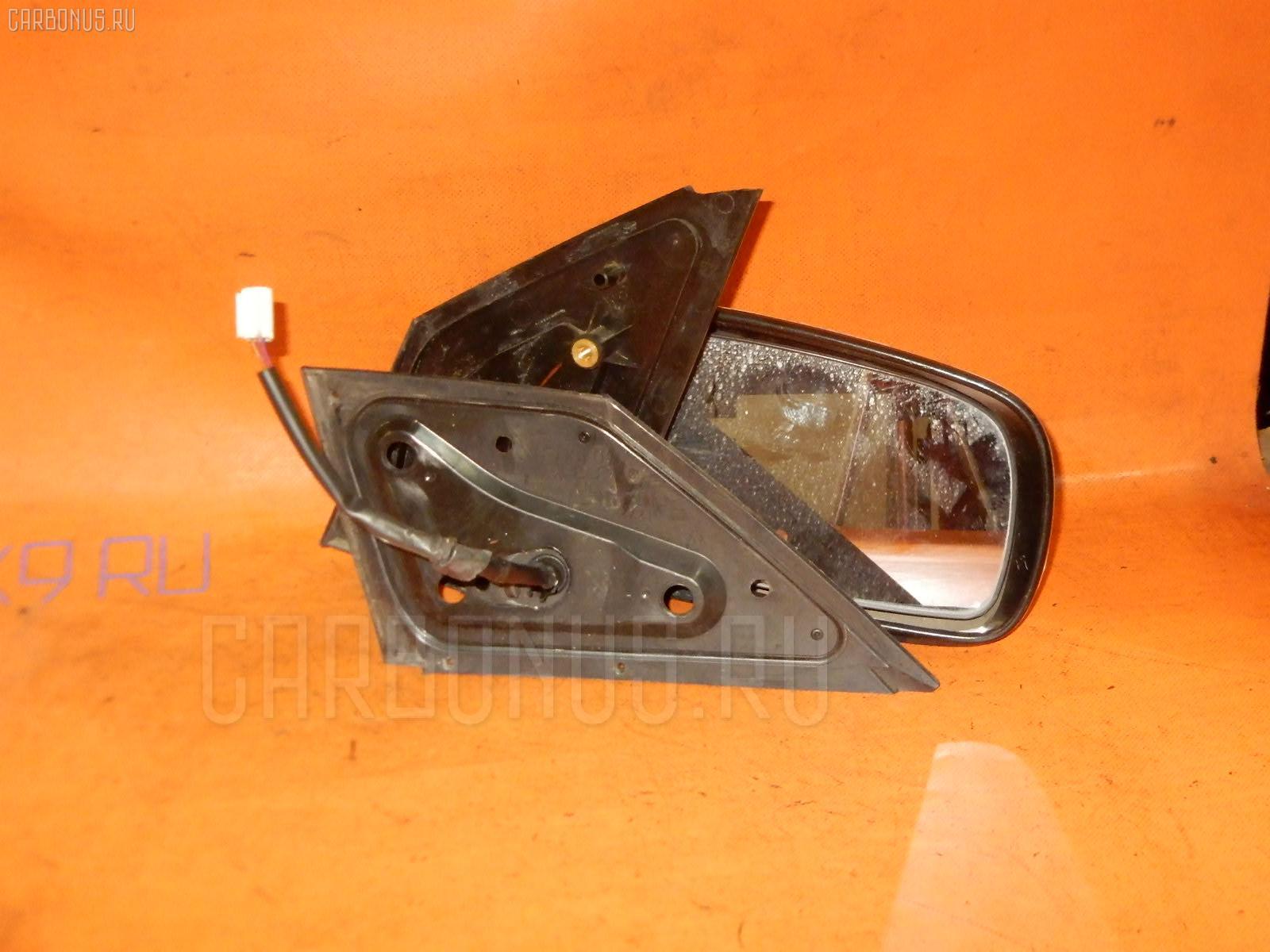 Зеркало двери боковой TOYOTA PASSO QNC10. Фото 6