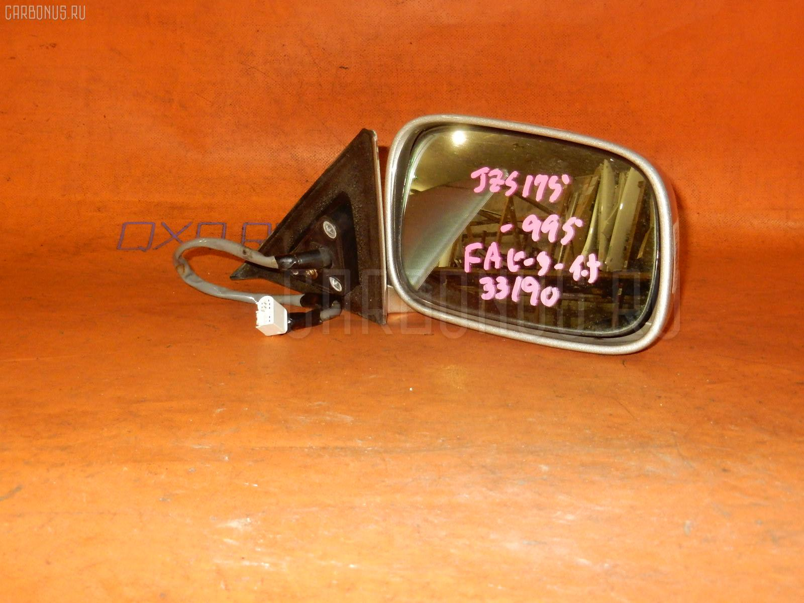 Зеркало двери боковой TOYOTA CROWN JZS175. Фото 11