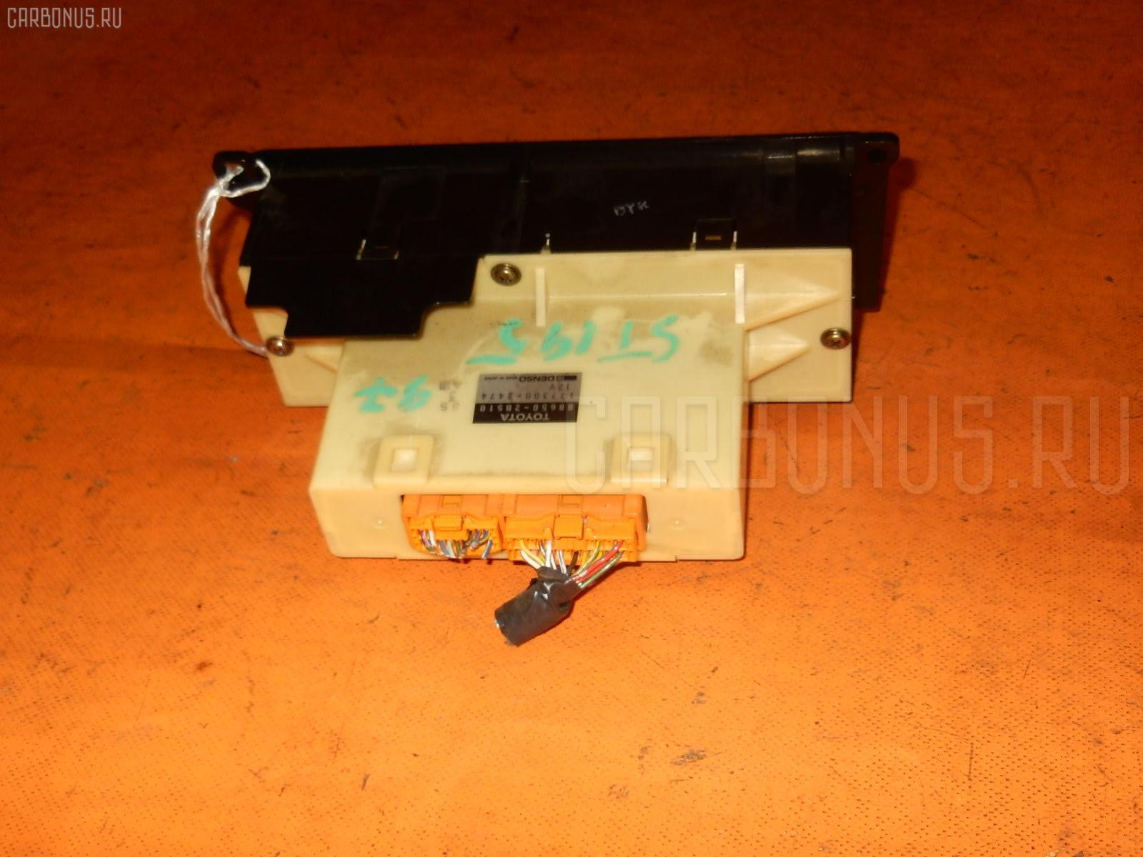 Блок управления климатконтроля TOYOTA CALDINA ST195G 3S-FE. Фото 9