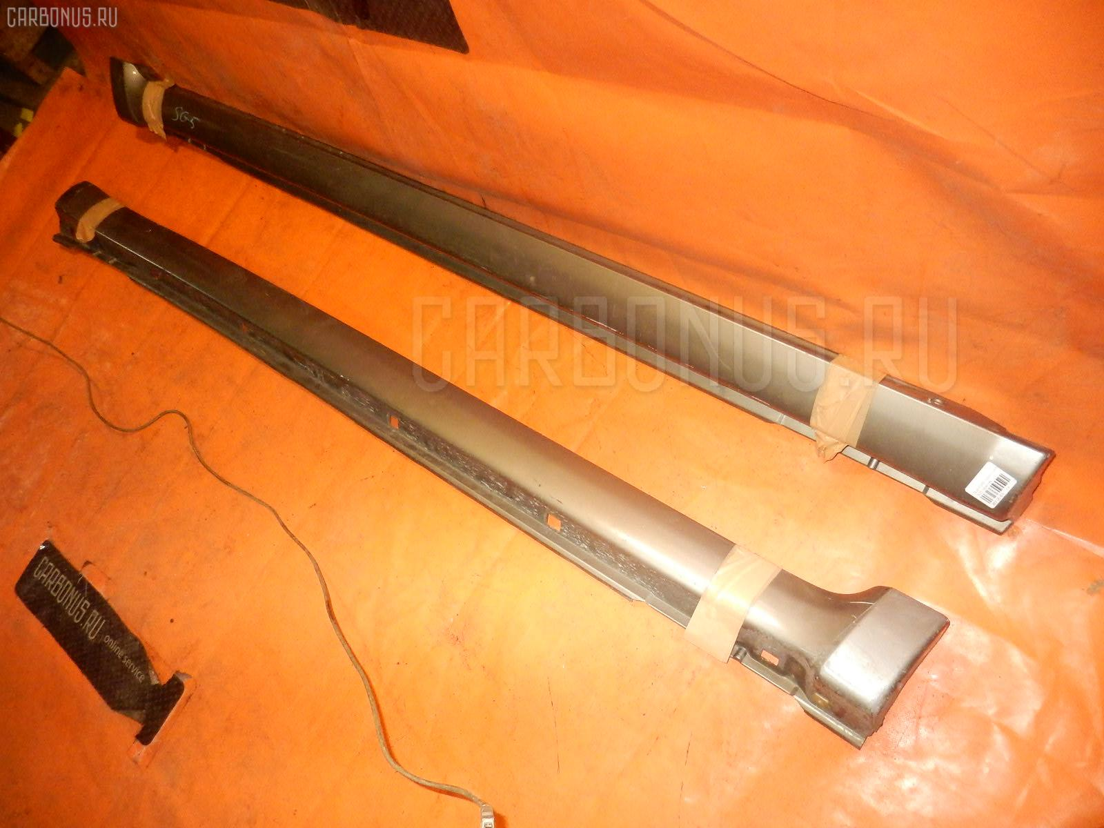 Порог кузова пластиковый ( обвес ) SUBARU FORESTER SG5 Фото 1