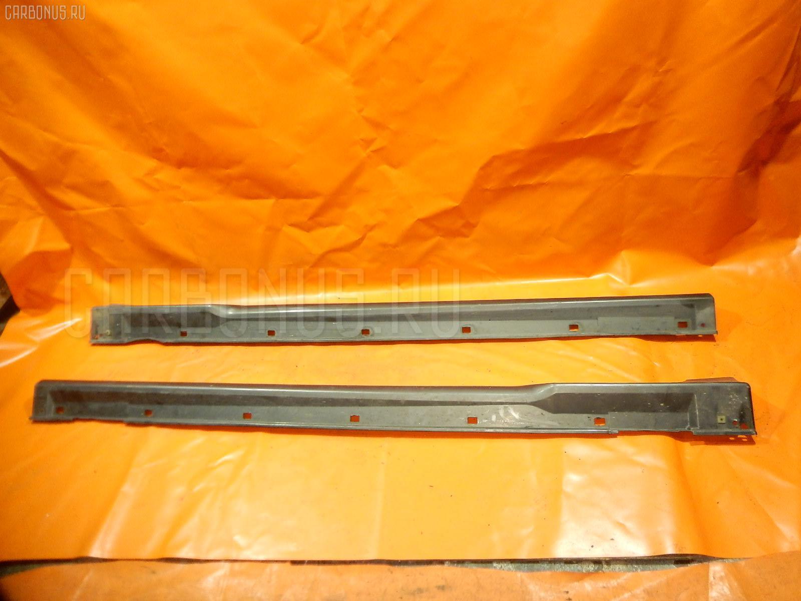 Порог кузова пластиковый ( обвес ) SUBARU LEGACY LANCASTER BHE Фото 3