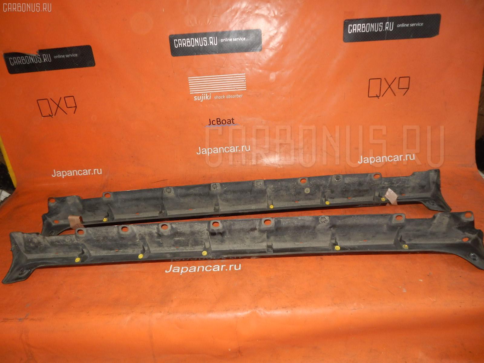 Порог кузова пластиковый ( обвес ) TOYOTA BB NCP30. Фото 1