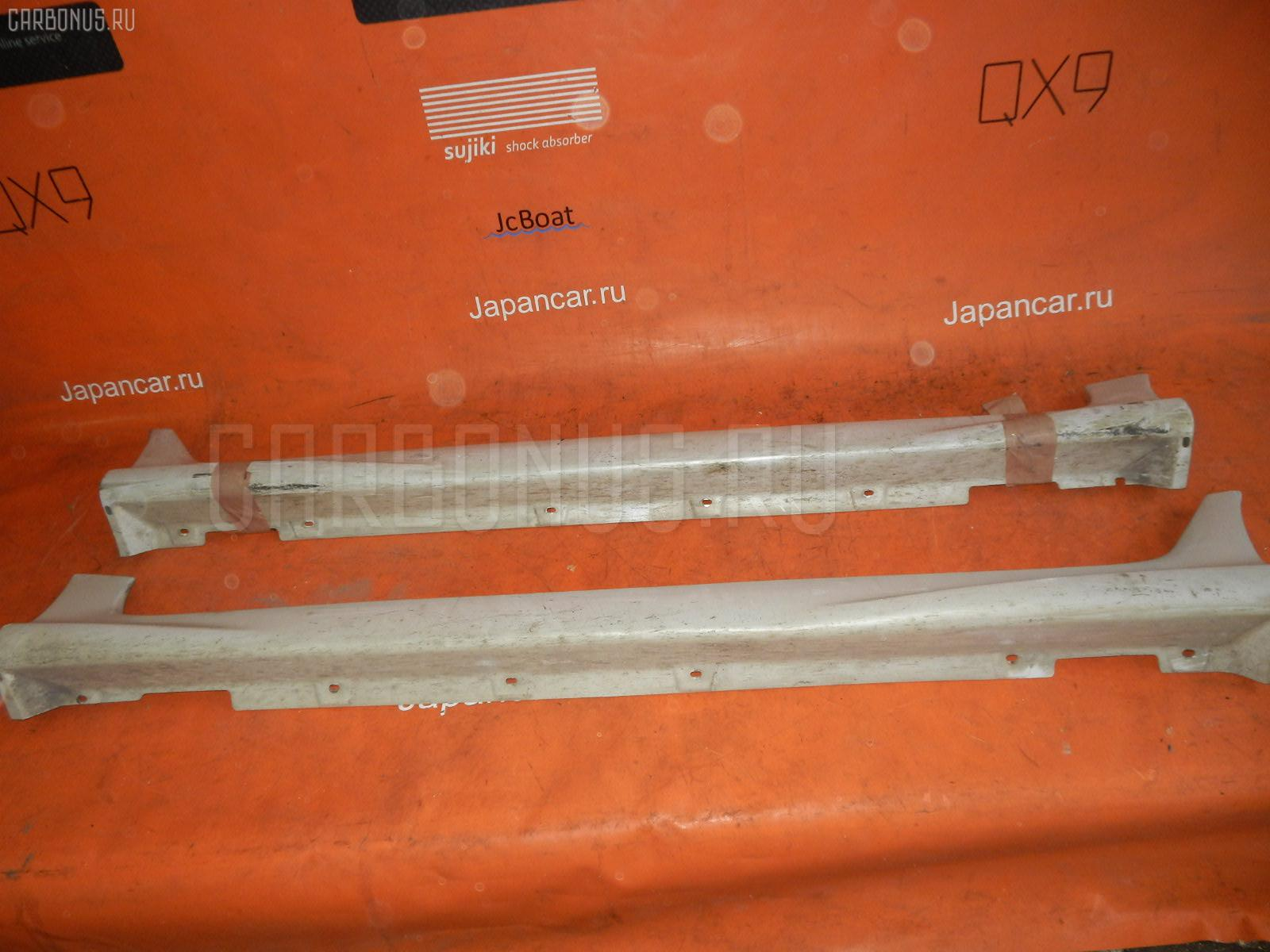 Порог кузова пластиковый ( обвес ) NISSAN CUBE AZ10. Фото 3