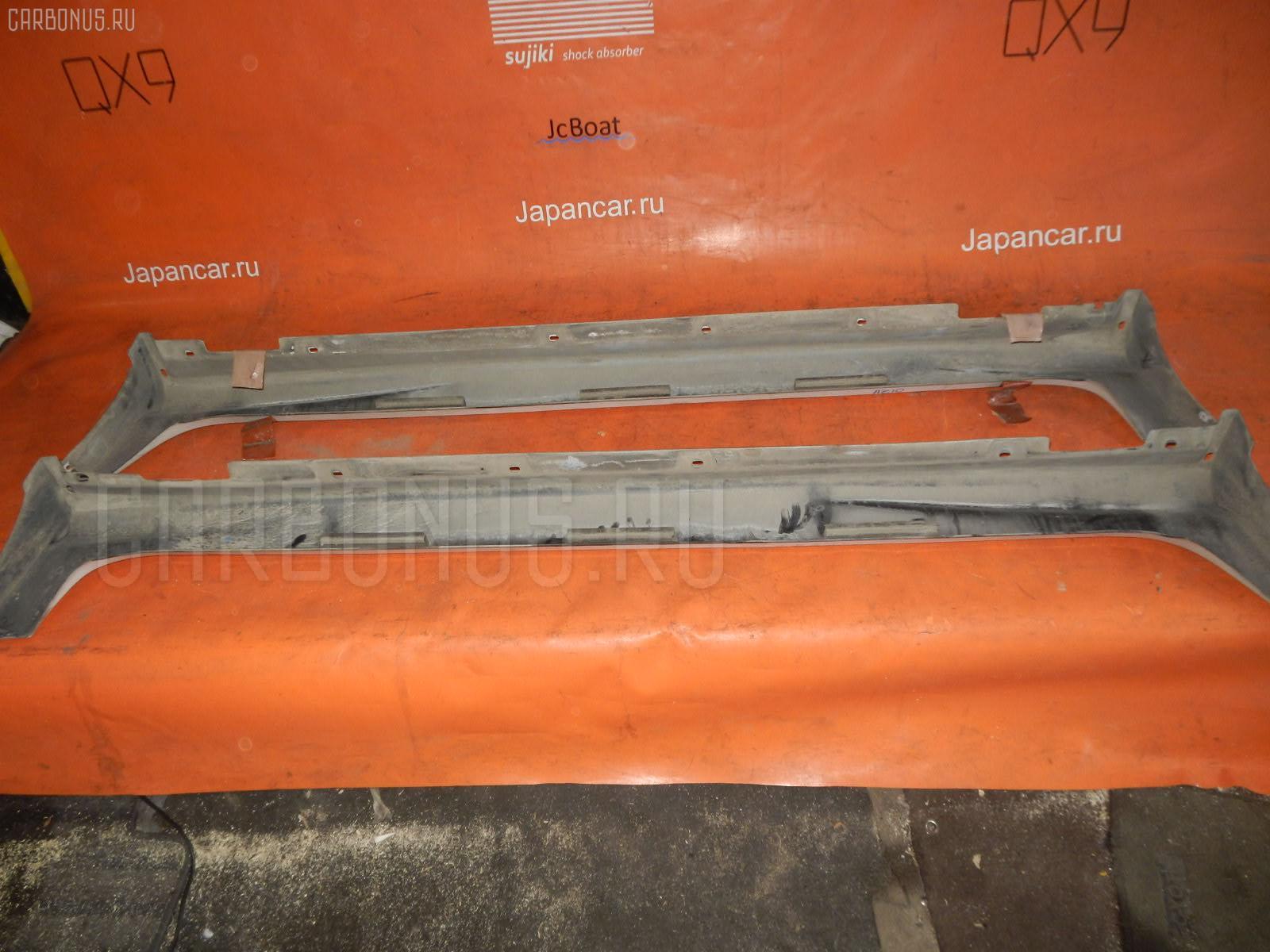 Порог кузова пластиковый ( обвес ) NISSAN CUBE AZ10. Фото 2