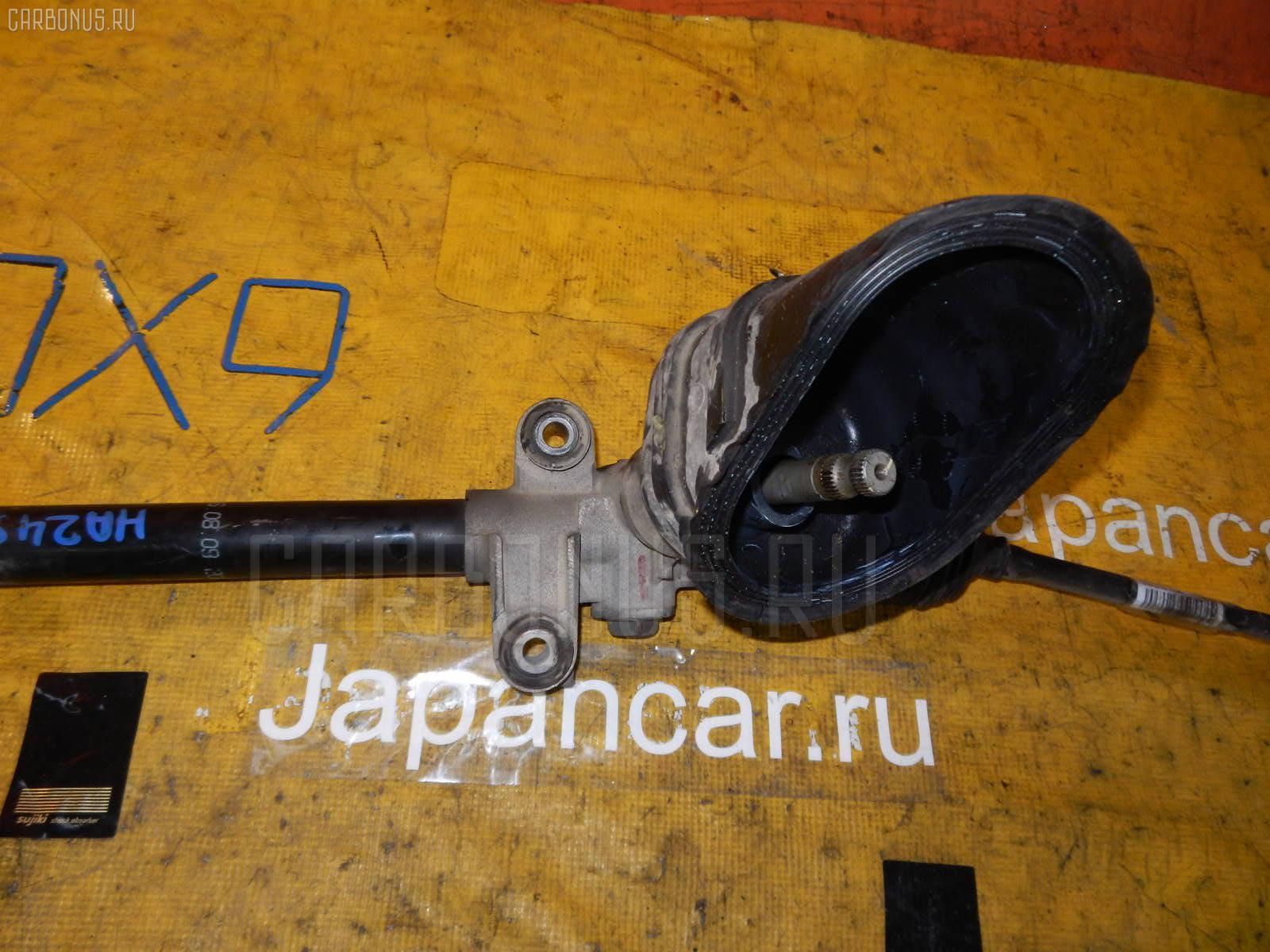Рулевая рейка SUZUKI ALTO HA24S K6A. Фото 3