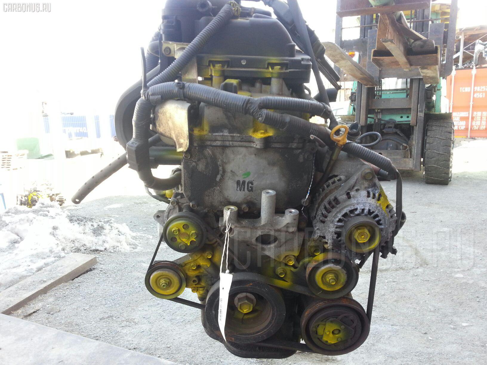 Двигатель NISSAN MARCH BK12 CR14DE. Фото 8