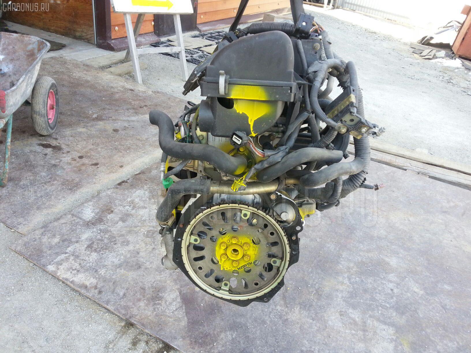 Двигатель NISSAN MARCH BK12 CR14DE. Фото 5