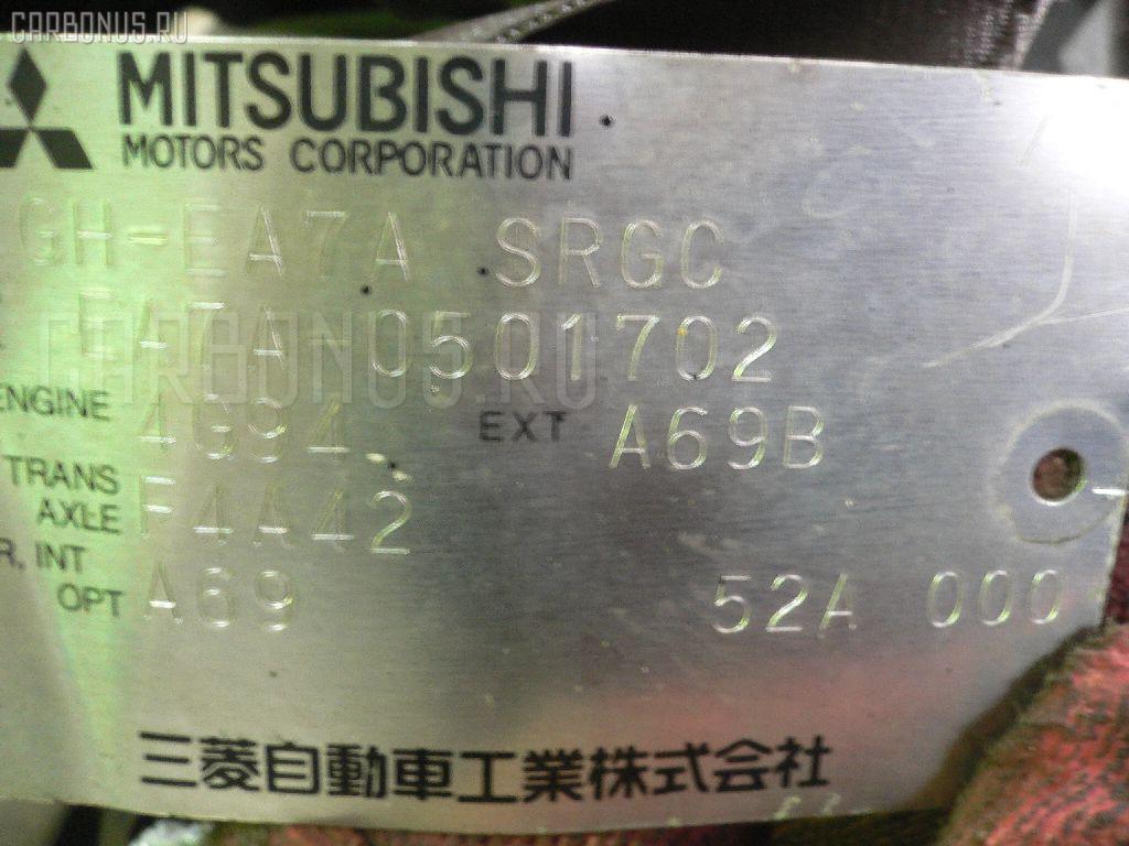 Двигатель MITSUBISHI GALANT EA7A 4G94. Фото 1