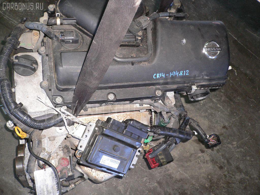 Двигатель NISSAN CUBE CUBIC BGZ11 CR14DE Фото 1