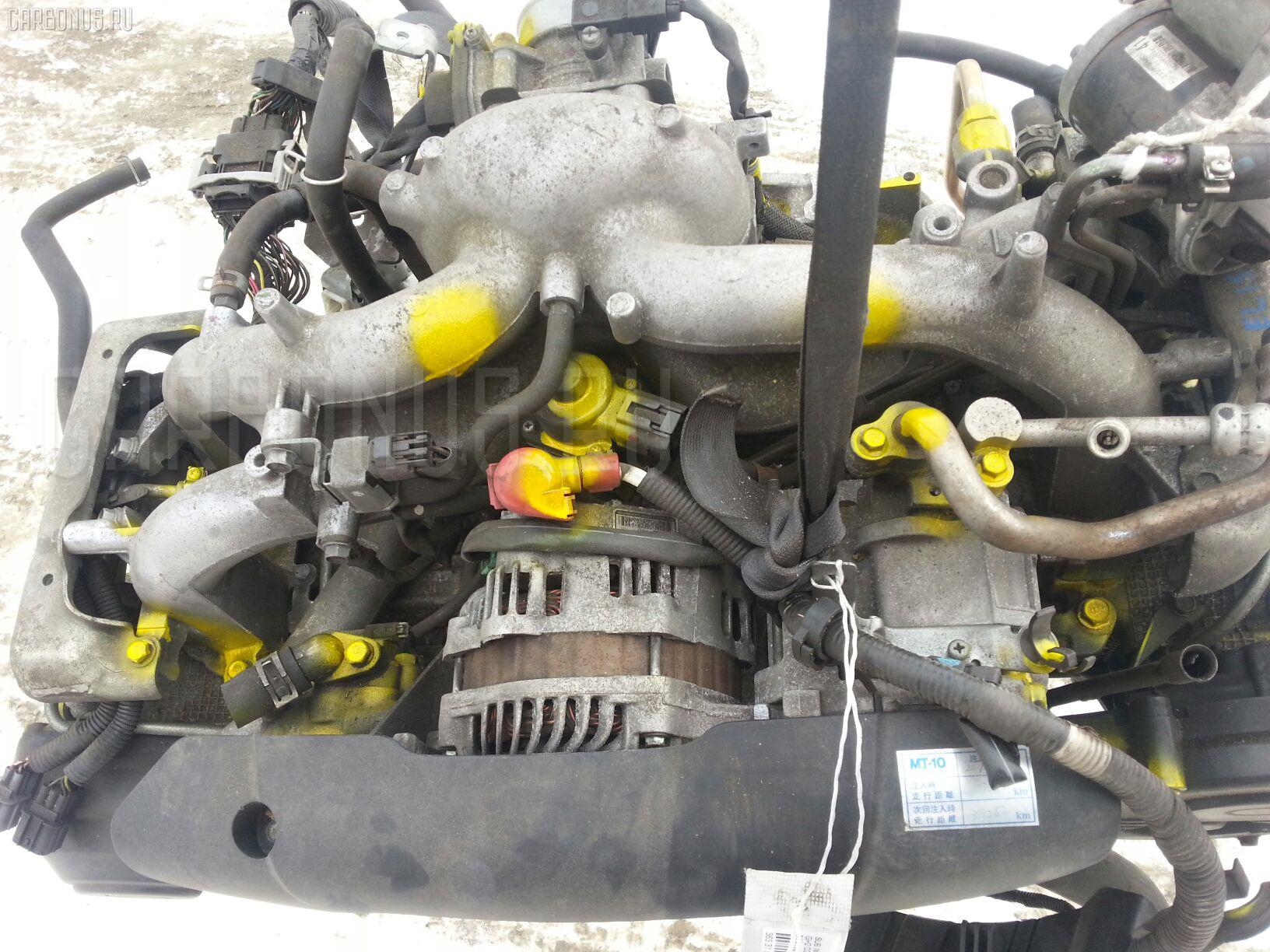 Двигатель SUBARU IMPREZA WAGON GH2 EL15 Фото 7
