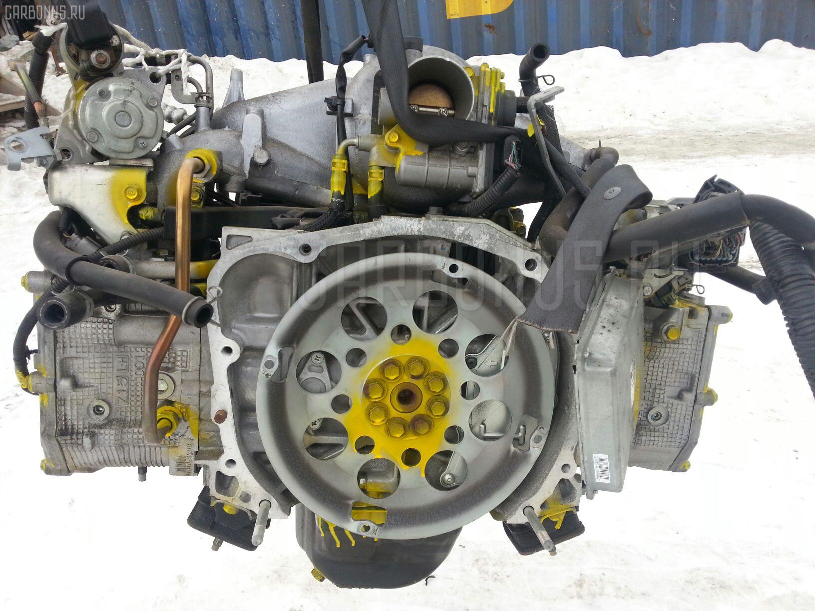 Двигатель SUBARU IMPREZA WAGON GH2 EL15 Фото 4