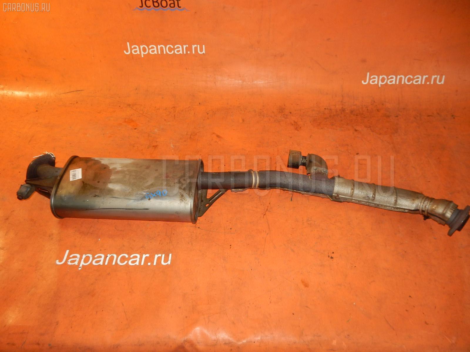Глушитель TOYOTA MARK II GX90 1G-FE. Фото 4