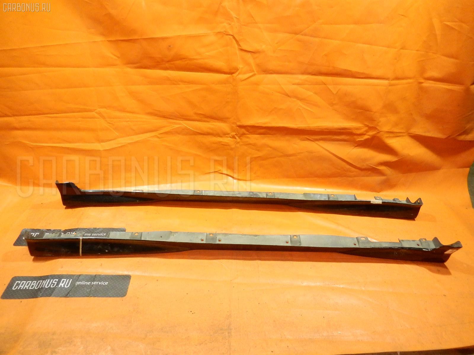 Порог кузова пластиковый ( обвес ) TOYOTA VITZ SCP10. Фото 2