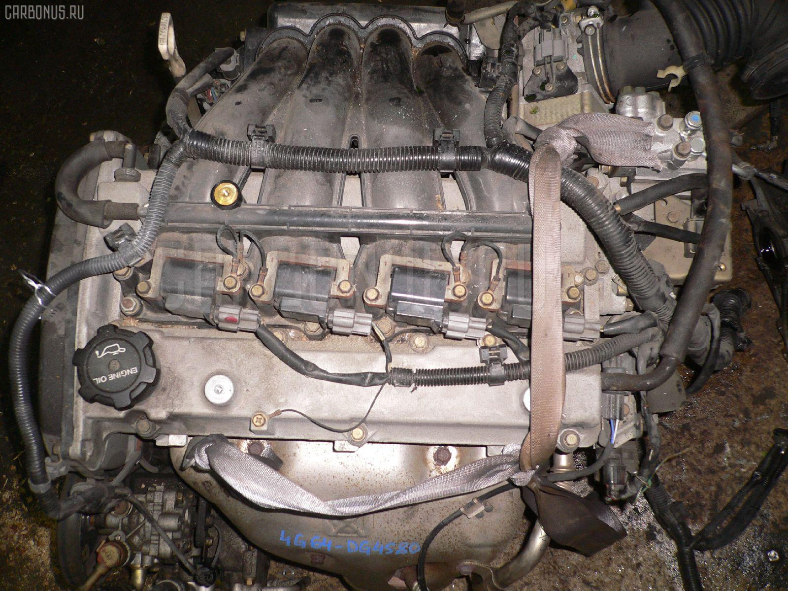 Двигатель MITSUBISHI AIRTREK CU4W 4G64 Фото 3