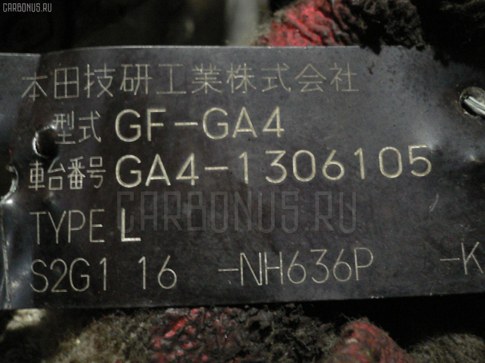 Двигатель Honda Capa GA4 D15B Фото 1