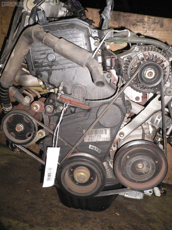 Двигатель TOYOTA CORONA ST190 4S-FE. Фото 8