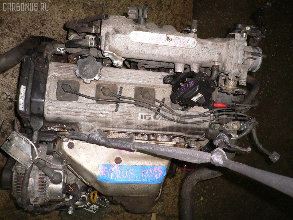 Двигатель TOYOTA CORONA ST190 4S-FE. Фото 5