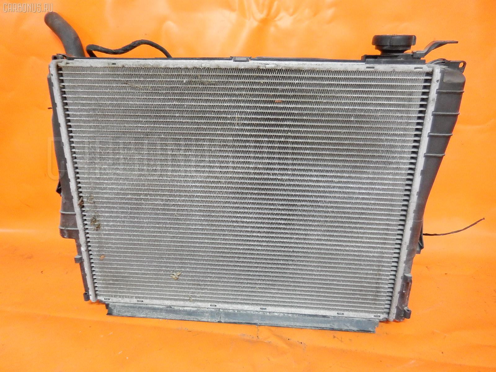 Радиатор ДВС BMW 3-SERIES E46-AV22 M54-226S1. Фото 8