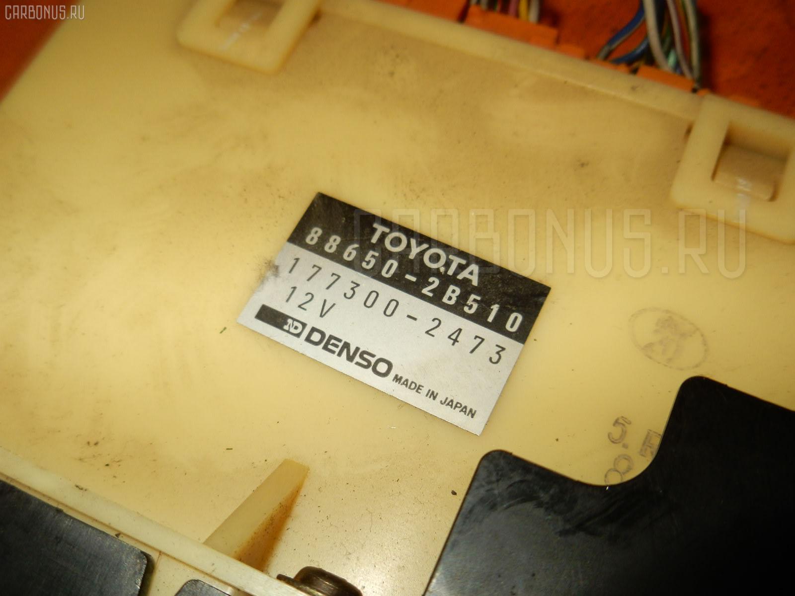 Блок управления климатконтроля TOYOTA CALDINA ST191G 3S-FE. Фото 10