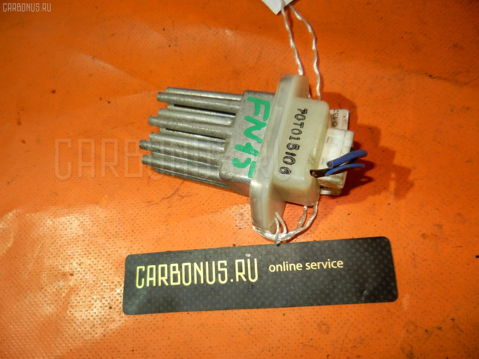 Регулятор скорости мотора отопителя NISSAN PRIMERA QP11 QG18DE. Фото 3