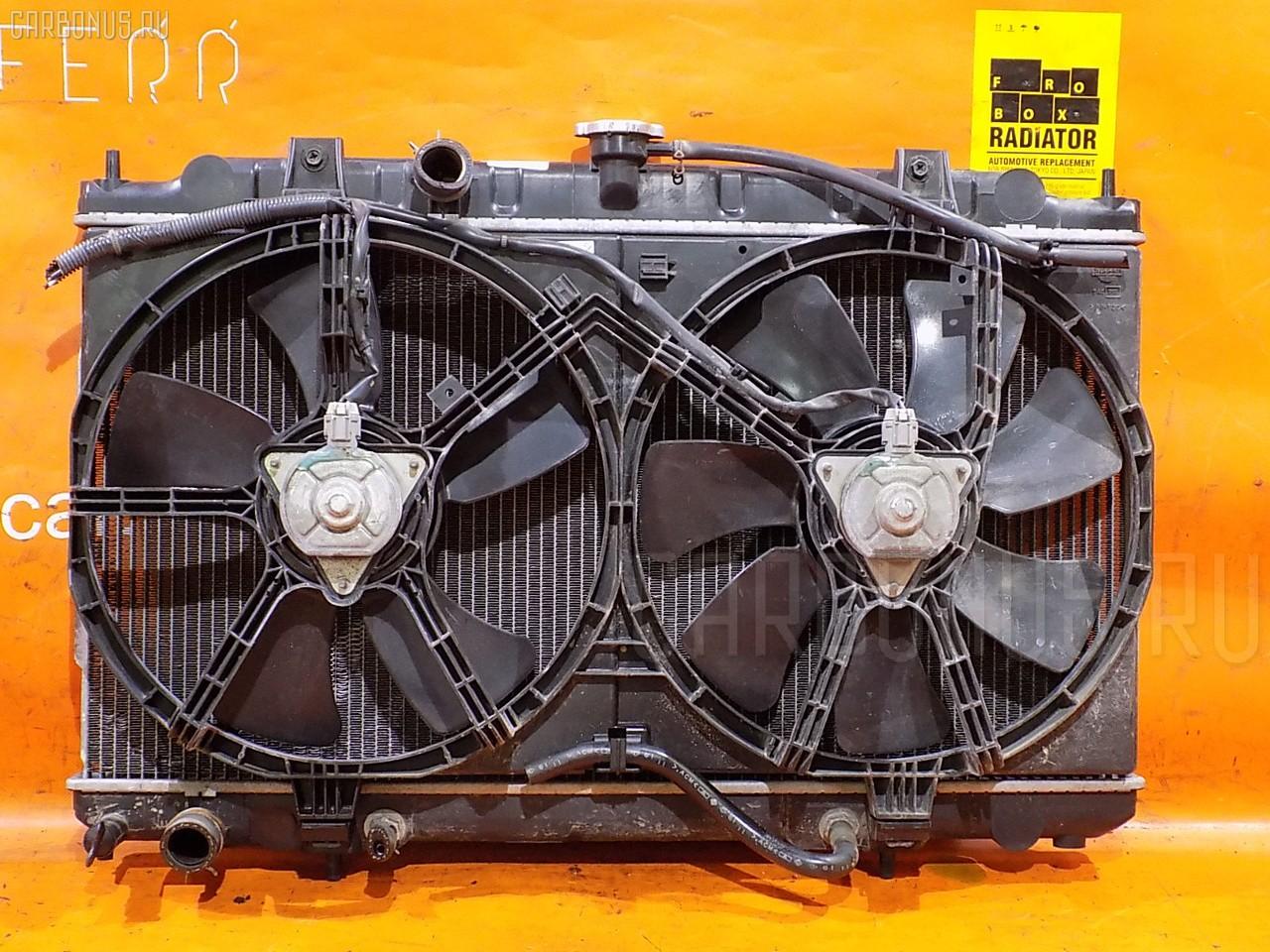 Радиатор ДВС NISSAN AD VHNY11 QG18DE. Фото 8