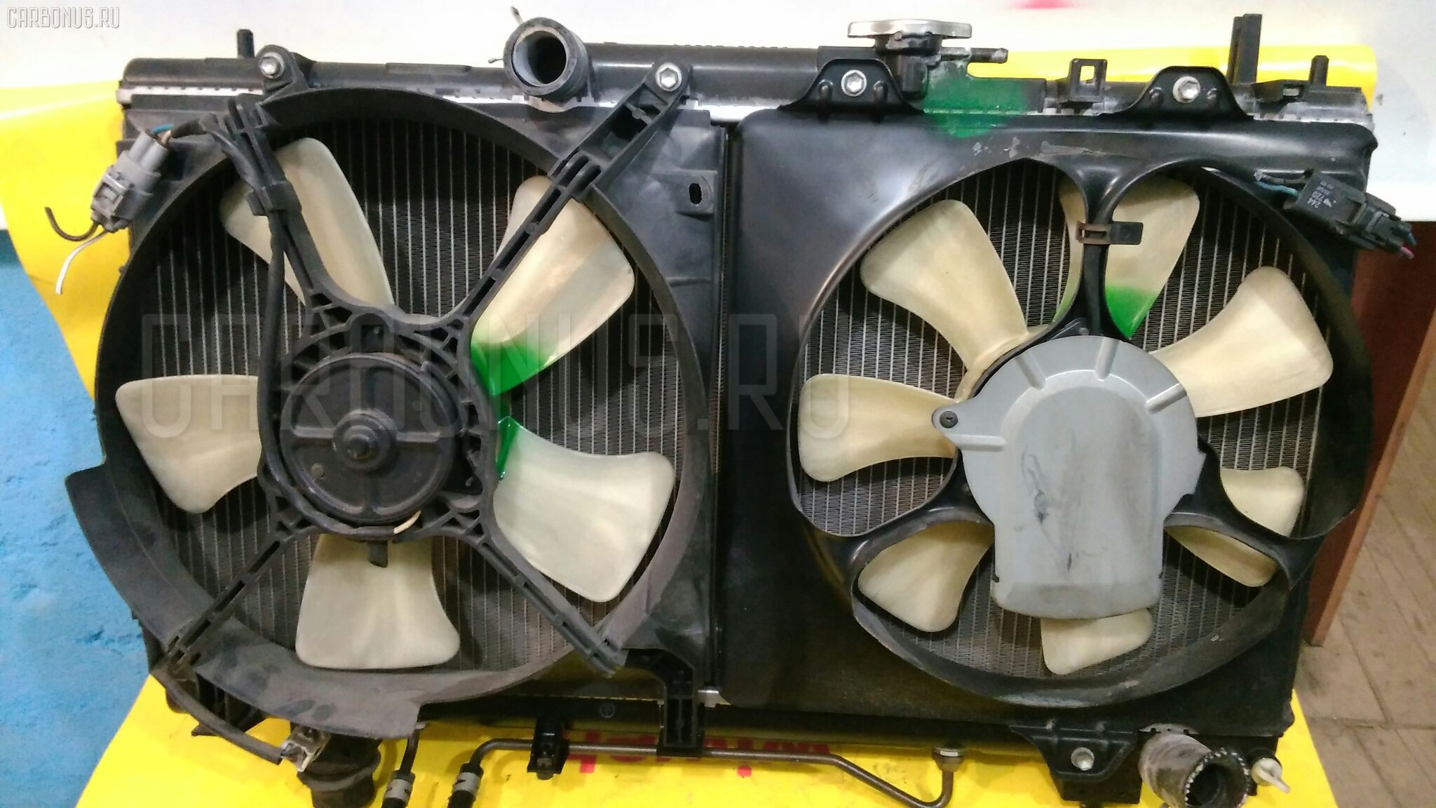 Радиатор ДВС TOYOTA CALDINA ST215G 3S-GE. Фото 4