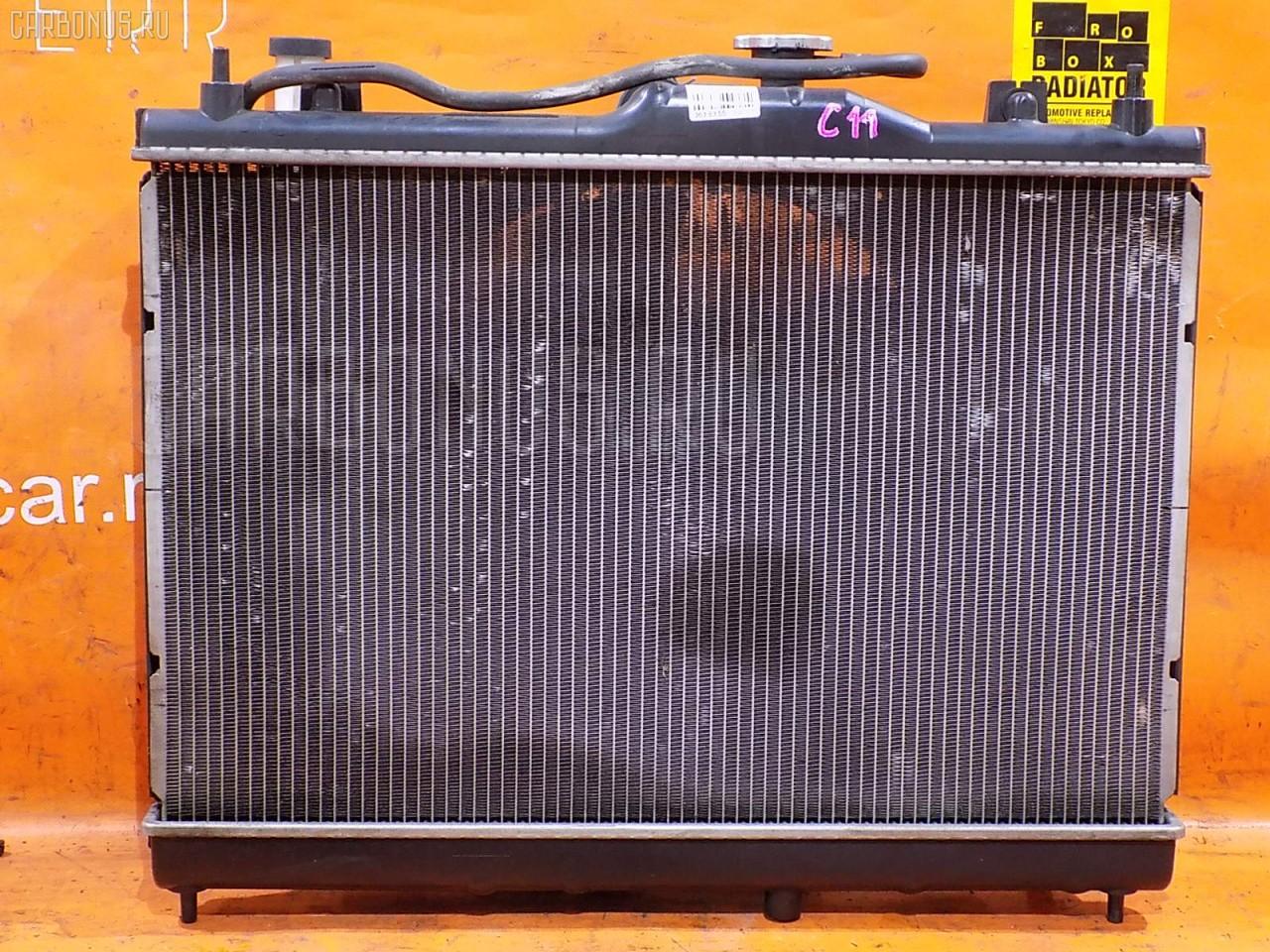 Радиатор ДВС NISSAN TIIDA C11 HR15DE. Фото 2