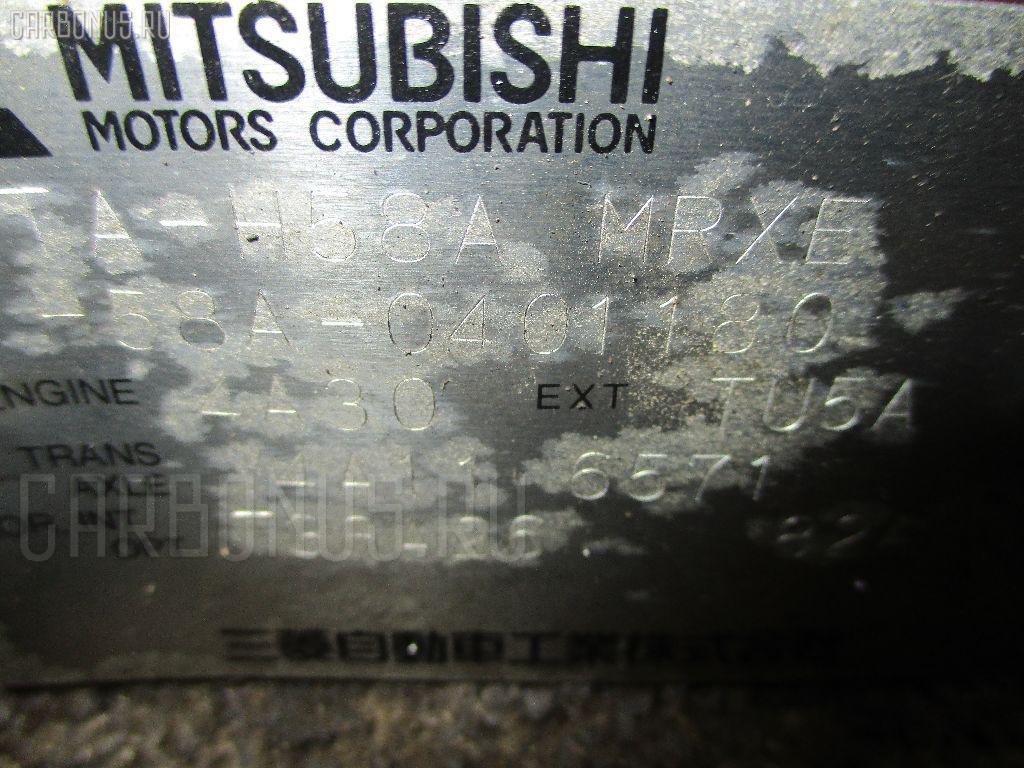 КПП автоматическая MITSUBISHI PAJERO MINI H58A 4A30. Фото 7